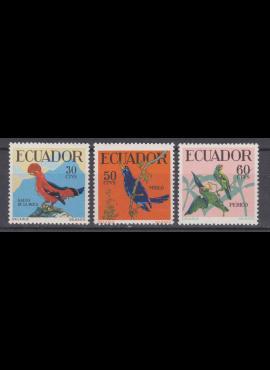 Ekvadoras, ScNr 646-648 MNH**