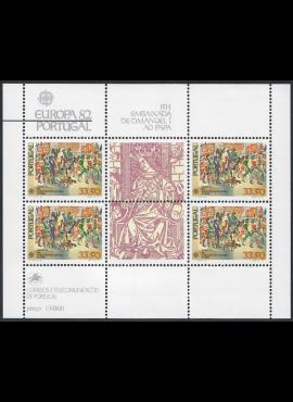 Portugalija, blokas Nr. 35, MiNr 1564 MNH**