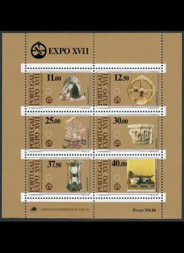 Portugalija, blokas Nr. 39, MiNr 1595-1600 MNH**