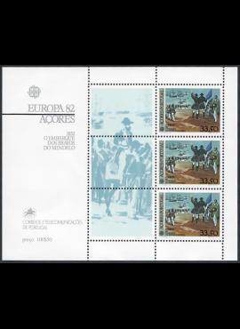 Portugalija-Azorai, blokas Nr. 3, MiNr 353 MNH**