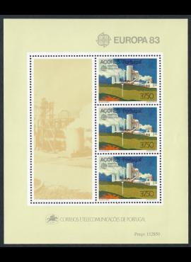 Portugalija-Azorai, blokas Nr. 4, MiNr 356 MNH**