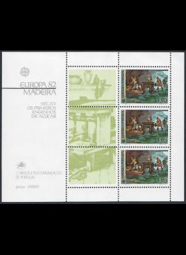 Portugalija-Madeira, blokas Nr. 3, MiNr 77 MNH**