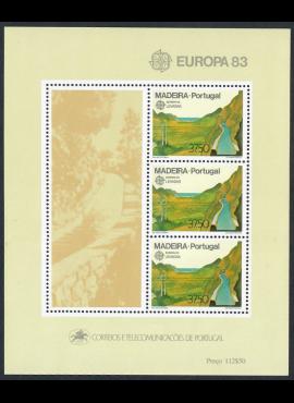 Portugalija-Madeira, blokas Nr. 4, MiNr 84 MNH**