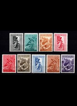 Vatikanas, pilna oro pašto serija, MiNr 241-249 MNH**