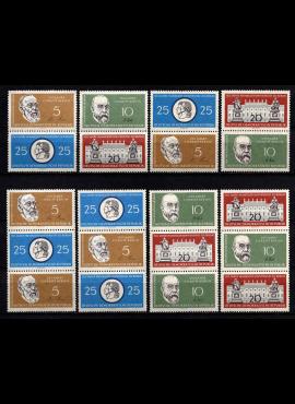 Vokietijos Demokratinė Respublika (VDR), pilna serija S Zd 12-19, MiNr 795-799 MNH**