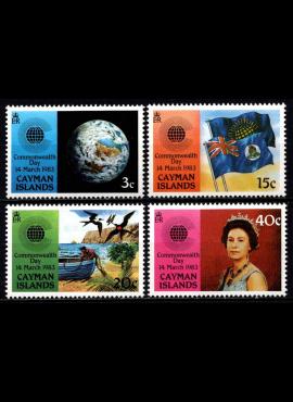 Kaimanų salos, pilna serija, MiNr 514-517 MNH**