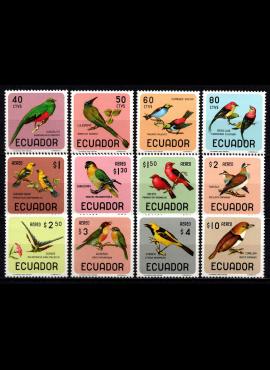 Ekvadoras, MiNr 1230-1241 MNH**
