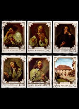 Rumunija, pilna serija, MiNr 2897-2902 Used (O)