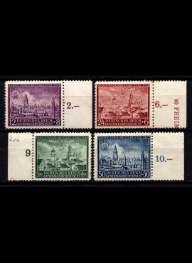 Vokietijos Reichas, Lenkijos okupacija, pilna serija, MiNr 92-95 MLH*