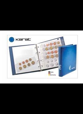 Albumas euro monetų rinkiniams (setams) LINDNER Karat Euro Classic 1106ME-B