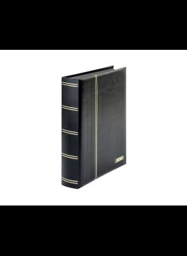 LINDNER Luxus, juodas, 60 puslapių albumas pašto ženklams 1169S-S