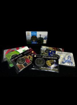 Vokeliai monetų kortelėms 93x61mm. SAFE 9240