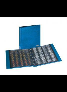 LINDNER Rondo mėlynas albumas su įmautėmis 168 monetoms 1400M-B