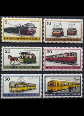 Vokietija, Vakarų Berlynas, pilna serija MiNr 379-384 MNH**