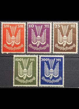 Vokietijos Reichas, pilna serija MiNr 263-267 MNH**