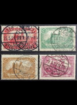 Vokietijos Reichas, pilna serija MiNr A113, 113-115 Used (O)