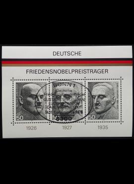 Vokietija. Blokas Nr 11, MiNr 871-873 Used (O)