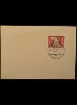 Vokietijos Reichas, vokas su MiNr 822 ženklu