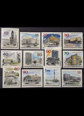 Vokietija, Vakarų Berlynas, pilna serija MiNr 254-265 MNH**