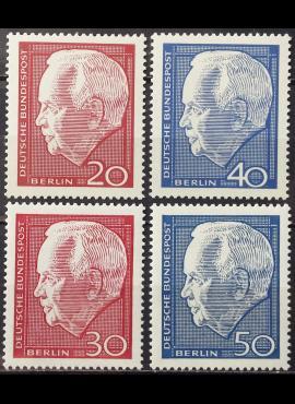 Vokietija, Vakarų Berlynas, dvi serijos MiNr 234-235 ir 314-315 MNH**