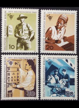 Vokietija, Vakarų Berlynas, pilna serija MiNr 342-345 MNH**
