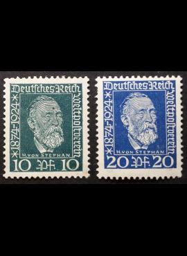 Vokietijos Reichas, pilna serija MiNr 368-369 MH*