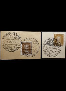 Vokietijos Reichas, MiNr 385-386 Used(O)