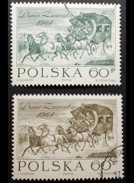 Lenkija, pilna serija ScNr 1270-1271 Used (O)