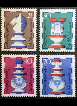Vokietija, pilna serija MiNr 742-745 MNH**