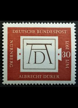 Vokietija MiNr 677 MNH**