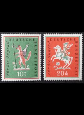 Vokietija, pilna serija MiNr 286-287 MNH**