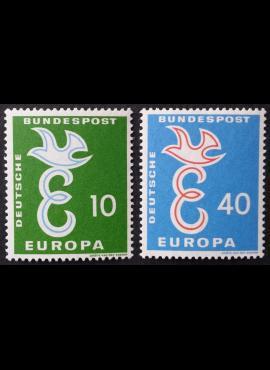 Vokietija, pilna serija MiNr 295-296 MNH**