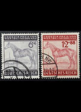 Vokietijos Reichas, pilna serija, MiNr 857-858 Used (O)