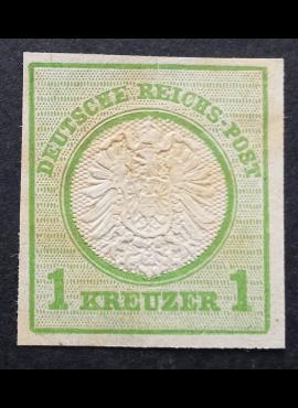 Vokietijos Reichas, 1872 m. MiNr 23 kirptas MNG (*)