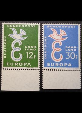 Saras, pilna serija MiNr 439-440 MNH**