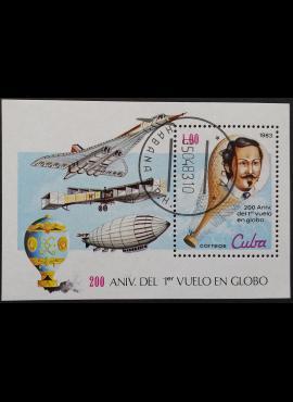 Kuba, blokas ScNr 2582 Used (O)