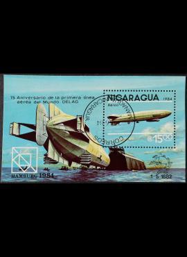 Nikaragva blokas ScNr C1045 Used (O)