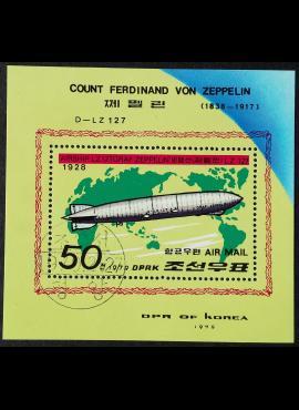 Šiaurės Korėja blokas ScNr 1789 Used (O)