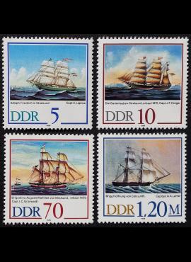 Vokietijos Demokratinė Respublika VDR, pilna serija MiNr 3198-3201 MNH**