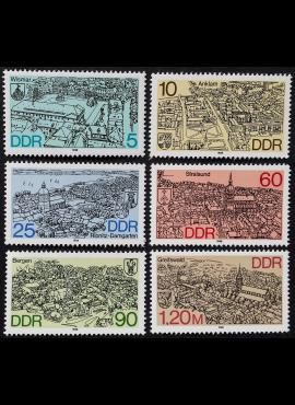 Vokietijos Demokratinė Respublika VDR, pilna serija MiNr 3161-3166 MNH**