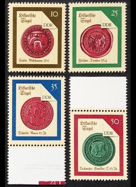 Vokietijos Demokratinė Respublika (VDR), pilna serija MiNr 3156-3159 MNH**