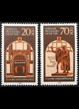 Vokietijos Demokratinė Respublika (VDR), pilna serija MiNr 3153-3154 MNH**