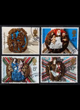 Didžioji Britanija, pilna serija, MiNr 663-666 Used (O)