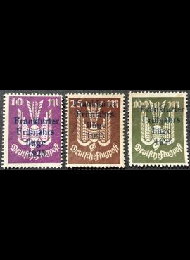 Vokietijos Reichas, MiNr 264-266 MNG (*)