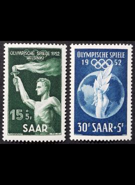 Saras, pilna serija MiNr 314-315 MLH*