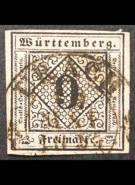 Senoji Vokietija, Viurtembergas, MiNr 4 Used (O)