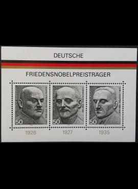 Vokietija. Blokas Nr 11, MiNr 871-873 MNH**