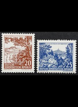 Vokietijos Demokratinė Respublika (VDR), pilna serija MiNr 815-816 MNH**