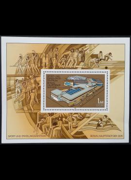 Vokietijos Demokratinė Respublika (VDR), blokas Nr. 64 MiNr 2600 MNH**