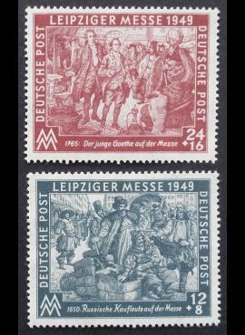 Pokario Vokietija, Sovietų zona, pilna serija MiNr 240-241 MLH*